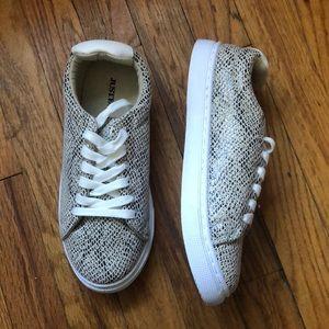 Snakeskin sneakers size:7